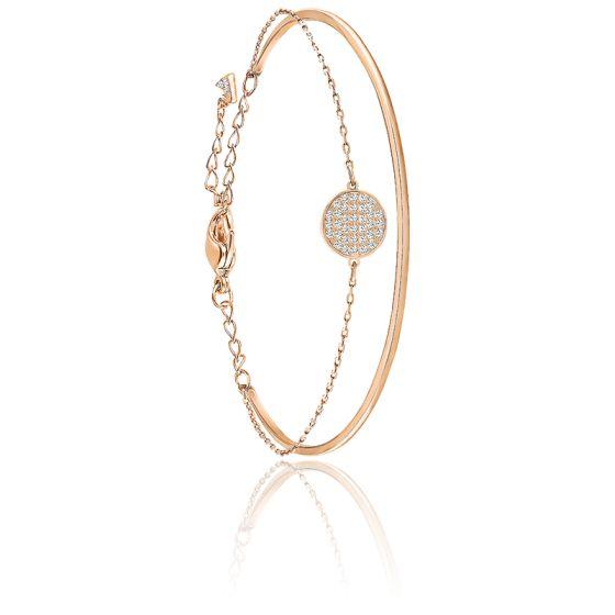 bracelet swarovski pierre rose
