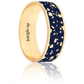 Bracelet Lucy Bleu Nuit & Plaqué Or Jaune