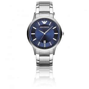 Montre Acier Bleu AR2477