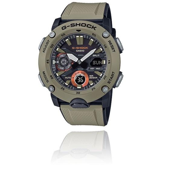 Montre G-Shock Series-Carbon Core Guard Beige GA-2000-5AER