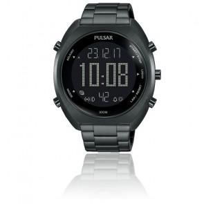 Montre sport chrono digital acier P5A017X1