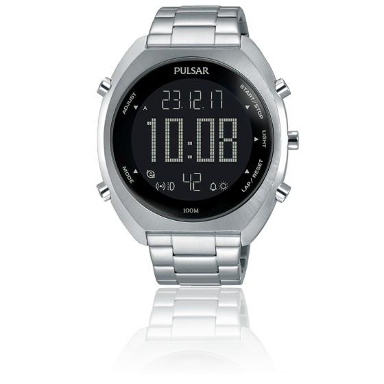 Montre sport chrono digital acier P5A015X1