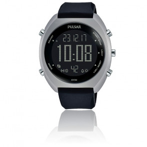 Montre sport chrono digital silicone P5A019X1