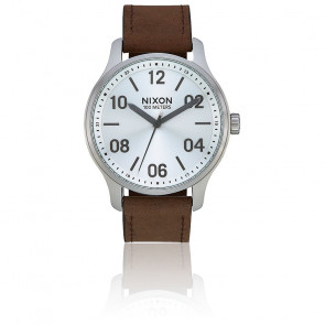 Montre Homme Patrol Leather 42 mm A1243-1113