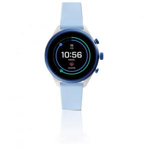 Montre Connectée Q Sport Silicone Bleu Clair 41 mm FTW6026P