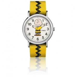 Montre Charlie Brown 38 mm Bracelet Nylon TW2R411006B