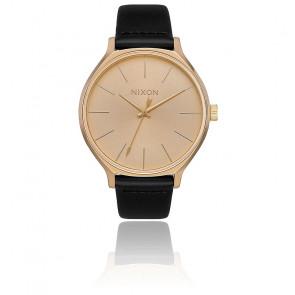 Montre Clique Leather All Gold / Black A1250-510