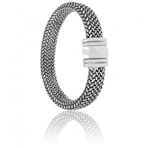 Bracelet Maille Milanaise Argent