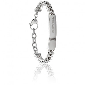 Bracelet stacked avec plaque, DX0966040