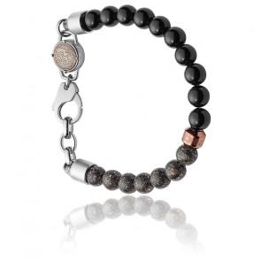 Bracelet folded metal, DX1076040