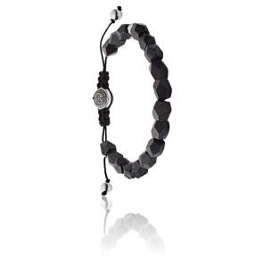 Bracelet low poly noir, DX1134040