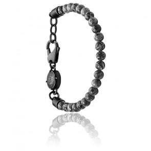 Bracelet stackables perles grises, DX1015001