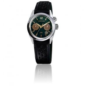 Montre Agenda Automatic Private Emerald Harisson Perforé Noir AGENDAAPVEML16