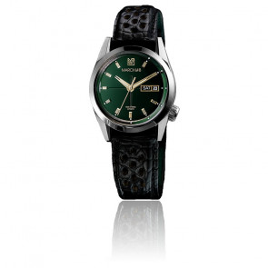 Montre AM89 Automatic Private Emerald Alligator Perforé Noir AM89PVEMALL2