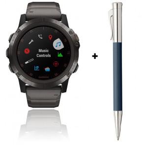 Offre : montre Fēnix 5X Plus 010-01989-05 et stylo 141583