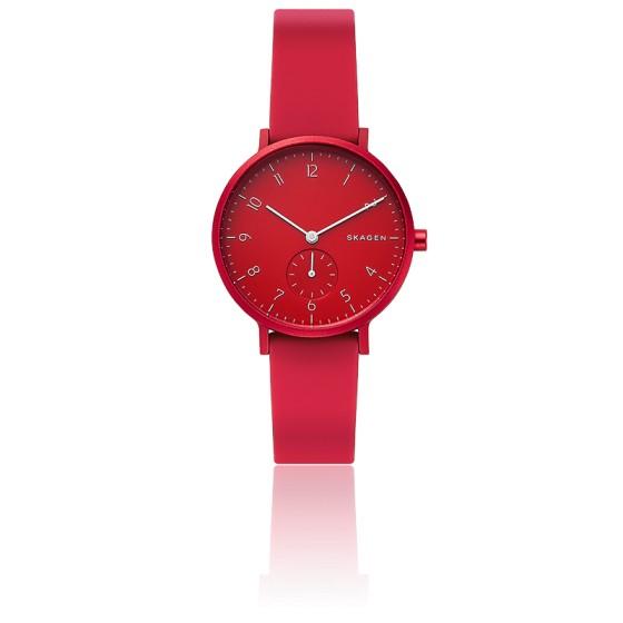 Montre Aaren Kulor Red Silicone 36mm SKW2765