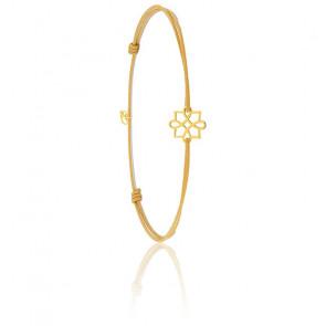 Bracelet Cordon Harmonie Or Jaune 9K