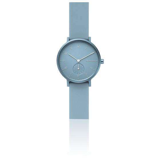 Montre Aaren Kulor Blue Silicone 36 mm SKW2764