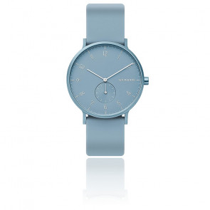 Montre Aaren Kulor Light Blue Silicone 41mm SKW6509
