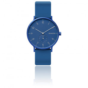 Montre Aaren Kulor Blue Silicone 41mm SKW6508