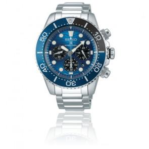 Montre Prospex Save The Ocean Chronographe Quartz Solaire SSC741P1