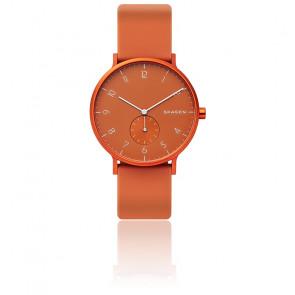 Montre Aaren Kulor Orange Silicone 41 mm SKW6511