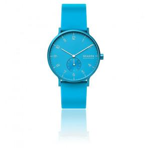 Montre Aaren Kulor Neon Blue Silicone 41mm SKW6555