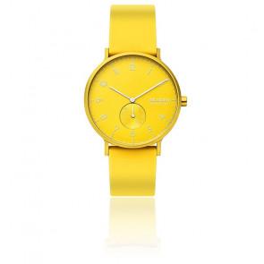 Montre Aaren Kulor Neon Yellow Silicone 41mm SKW6557