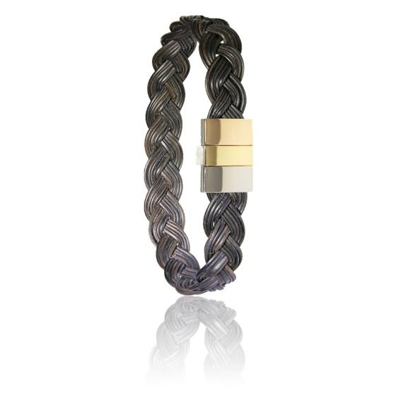 bracelet 604 3 poils d 39 l phant tress s albanu ocarat. Black Bedroom Furniture Sets. Home Design Ideas