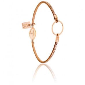 Bracelet Eleonore enfant pixel rose