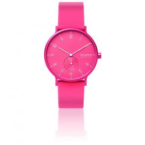 Montre Aaren Kulor Neon Pink Silicone 41mm SKW6559