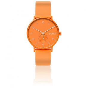 Montre Aaren Kulor Neon Orange Silicone 41mm SKW6558