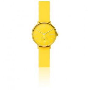 Montre Aaren Kulor Neon Yellow Silicone 36 mm SKW2820