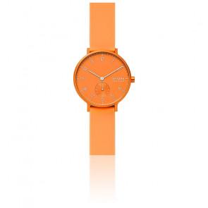 Montre Aaren Kulor Neon Orange Silicone 36 mm SKW2821