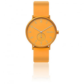 Montre Aaren Kulor Yellow Silicone 41mm SKW6510