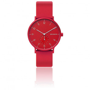 Montre Aaren Kulor Rouge Silicone 41mm SKW6512