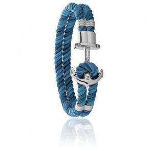 Bracelet Phreps,  ancre acier et nylon