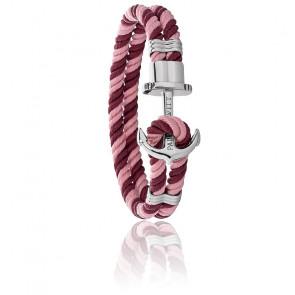 Bracelet Phreps, ancre en acier et nylon