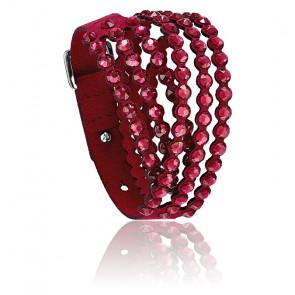 Bracelet Swarovski power collection rouge