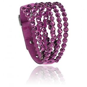 Bracelet Swarovski power collection violet