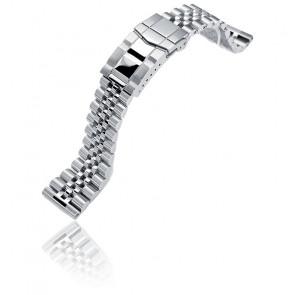 Bracelet Super Jubilee Acier Inoxydable 22mm Endmill SS221805P2S020S Straight End
