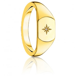 Bague vintage étoile dorée, D_TR0038-924-14