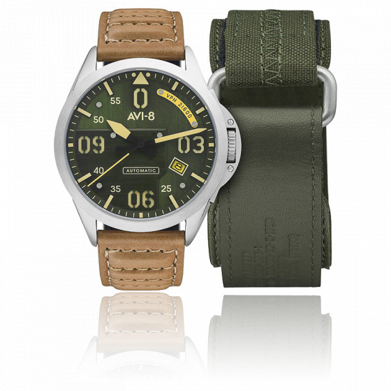 Montre P-51 Mustang Bottisham Automatic AV-4069-02