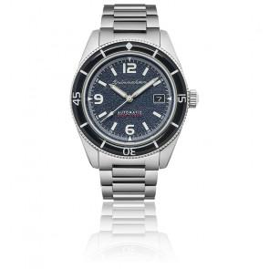 Montre Fleuss Acier Bleu Automatic SP-5055-22