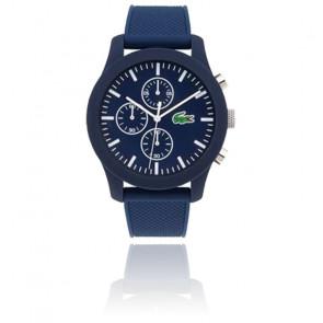 Montre Homme Lacoste 12.12 avec Bracelet Silicone Bleu 2010970