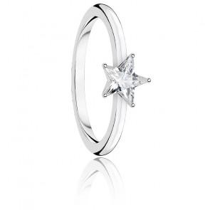 Bague étoile scintillante argent, TR2270-051-14
