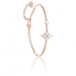 Bracelet-jonc Symbolic blanc Métal doré rose, 5494338