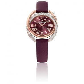 Montre Duo Rouge Or Rose 5484379