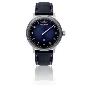 Montre Bauhaus Monoaiguille Bleu 5040-3