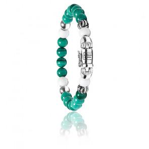 Bracelet spirit bead mini malachite